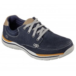 Skechers Hombre Relaxed Fit 64695